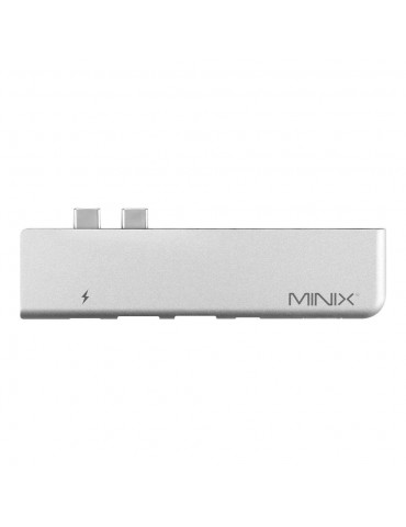 Minix NEO-C-DGR Adattatore e Caricatore per Macbook Pro - Grigio