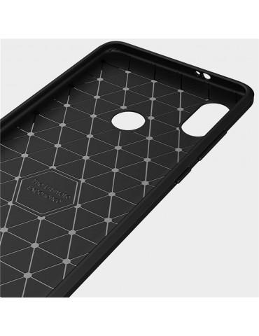 Cover per Xiaomi Redmi Note 5 Carbon Fiber - Nero