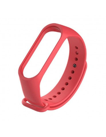 Cinturino di ricambio per Xiaomi Mi Band 3 - Rosso
