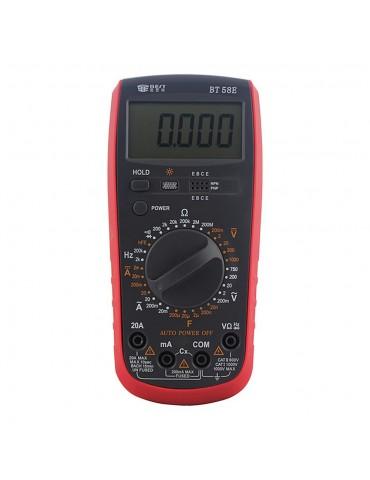 BEST BT-58E Multimetro Digitale