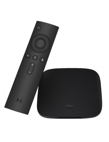 Xiaomi Mi Box 3S Vers. Inglese con telecomando con comandi vocali