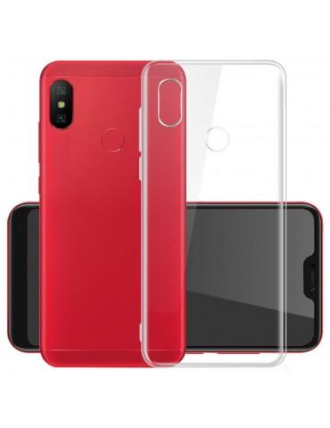 Cover posteriore in silicone TPU per Xiaomi Redmi Note 6 - Trasparente