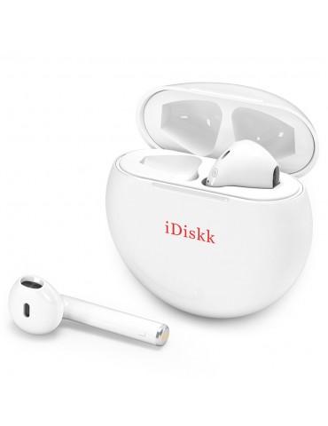 iDiskk i51 Auricolari Bluetooth 5.0 TWS - Bianco