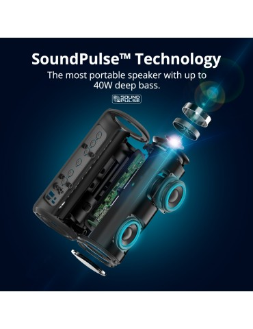 Tronsmart Element T6 Plus Altoparlante Bluetooth - Nero