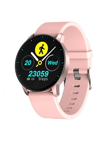 Makibes Q20 Smartwatch - Rosa