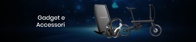 Acquista gadget, power bank, cuffie, speaker bluetooth, accessori mobile