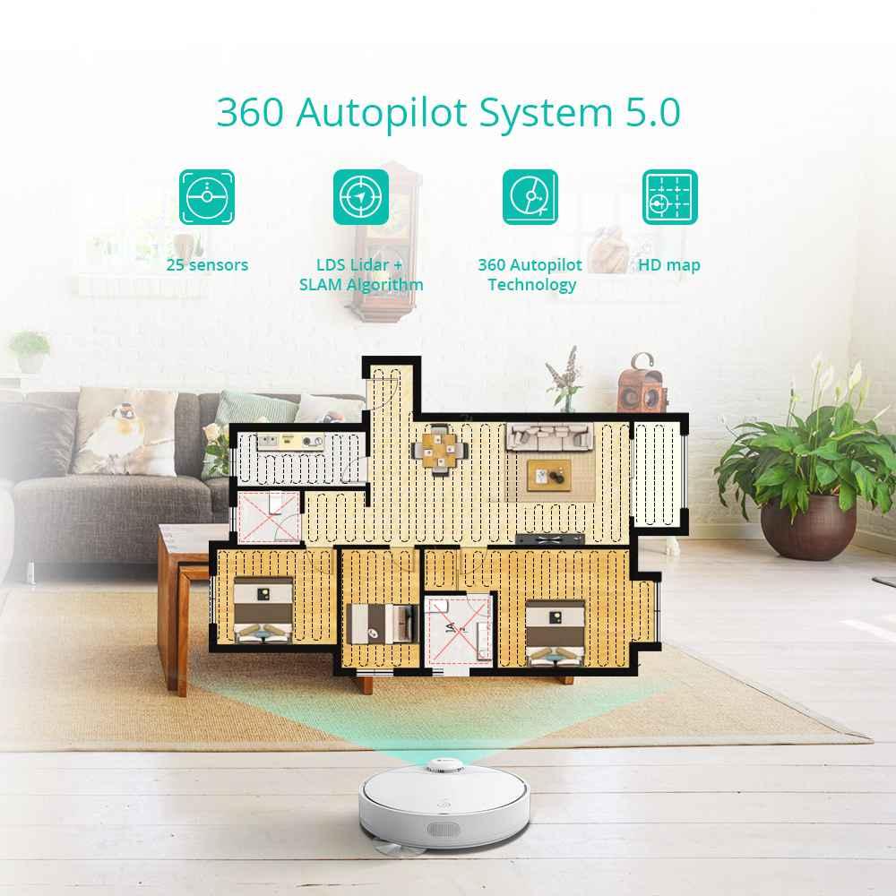Offerta 360 Robot Aspirapolvere recensione