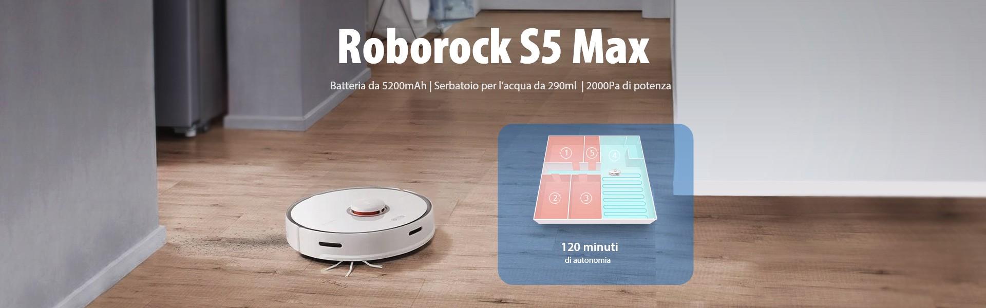 Roborock S5 Max Italia