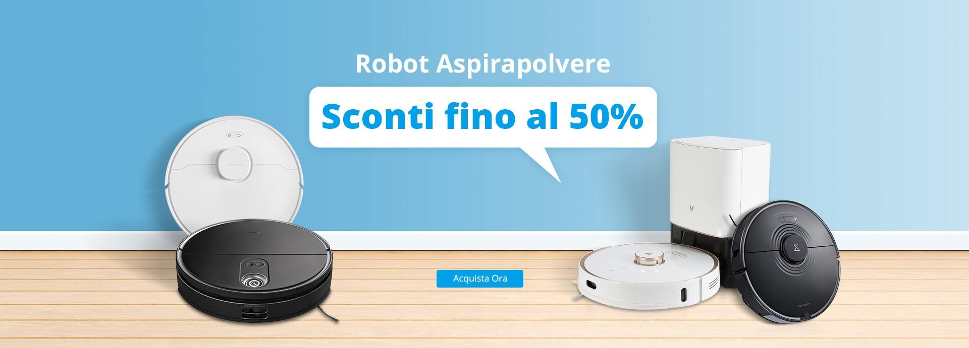 Robot aspirapolvere in offerta | Italia